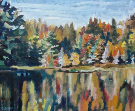Autumn Lake - Algonquin