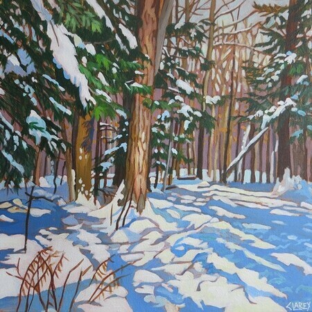 Fresh Snow, Crawford Lake