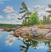 Peace and Solitude, French River