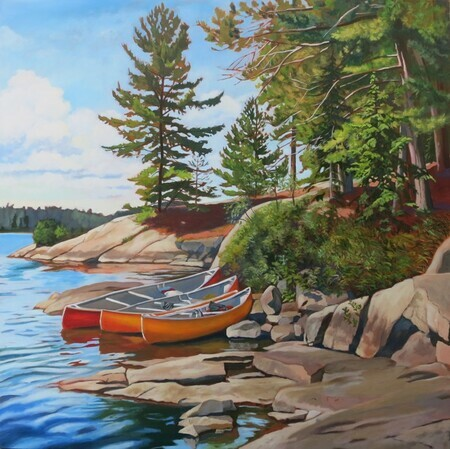 Three Canoes, Algonquin Park